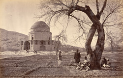 Timur Shah's Mosque [sic. for tomb, Kabul].